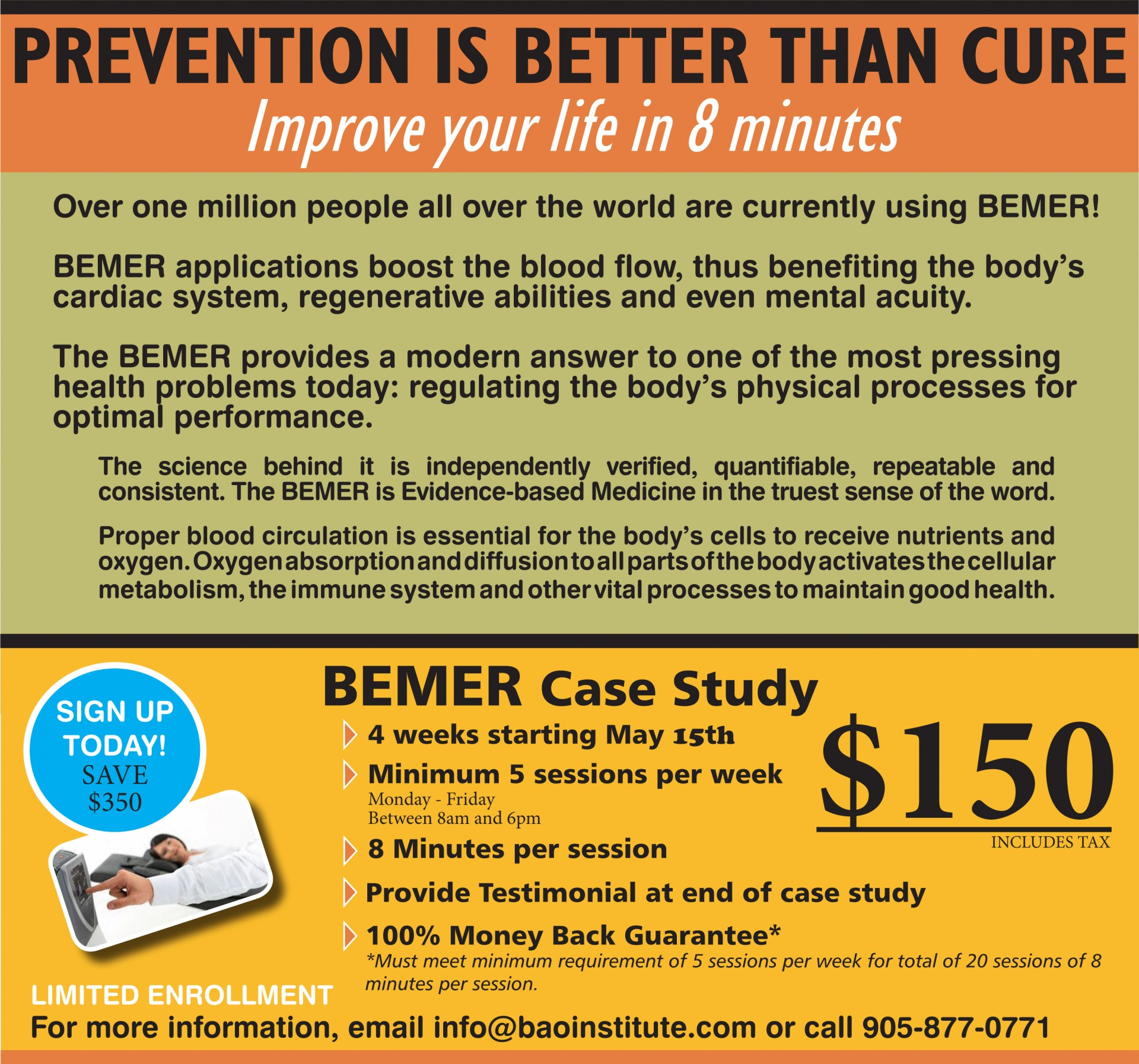 Bemer Case Study – BAO Institute